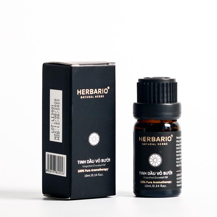 Tinh dầu bưởi nguyên chất 10ml herbario